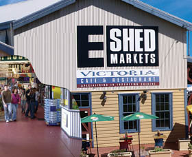 The E Shed Markets - Tourism TAS