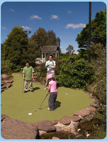 Wetlands Mini Golf - Tourism TAS